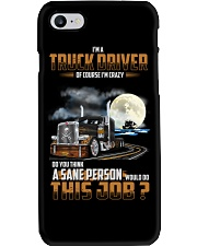 Trucker Clothes - Iam a TRUCK DRIVER Phone Case tile