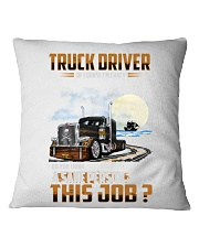 Trucker Clothes - Iam a TRUCK DRIVER Square Pillowcase tile