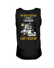 Trucker Tee Shirt - My rig is so fast Unisex Tank thumbnail
