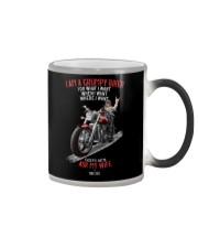 I Am A Grumpy Biker Color Changing Mug thumbnail