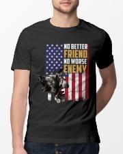 No Better Friend No Worse Enemy  Classic T-Shirt lifestyle-mens-crewneck-front-13