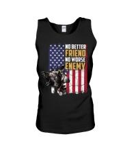 No Better Friend No Worse Enemy  Unisex Tank thumbnail