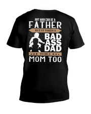 Badass Dad V-Neck T-Shirt tile