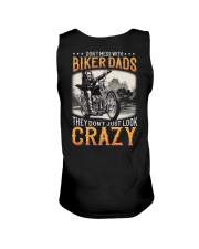DONT MESS WITH BIKER DADS - CRAZY Unisex Tank thumbnail