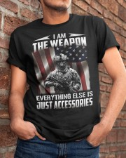 I Am The Weapon  Classic T-Shirt apparel-classic-tshirt-lifestyle-26