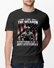 I Am The Weapon  Classic T-Shirt lifestyle-mens-crewneck-front-13