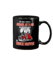 TRUCKER -The only people awake at 3 am  Mug tile