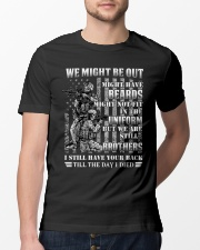 We Are Still Brother Classic T-Shirt lifestyle-mens-crewneck-front-13