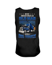 Truck Clothes - Never underestimate an old man Unisex Tank thumbnail