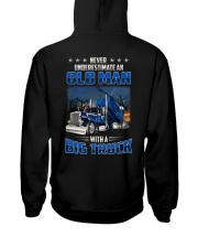 Truck Clothes - Never underestimate an old man Hooded Sweatshirt thumbnail