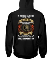 I'm A Proud Daughter Of A Crazy Dad Hooded Sweatshirt thumbnail