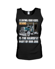 LEAVING OUR KIDS BEHIND IS THE HARDEST PART Unisex Tank thumbnail