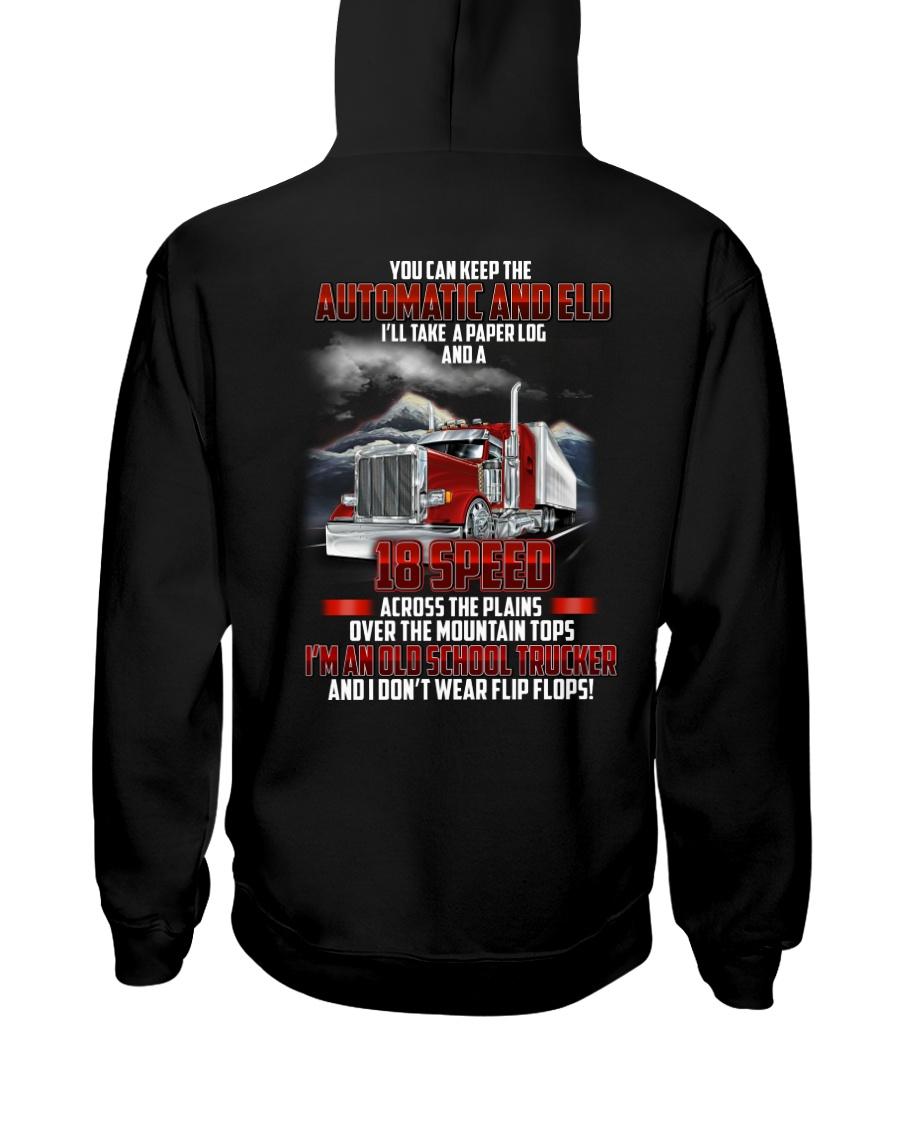 Trucker Clothes - I'm an Old School Trucker Hooded Sweatshirt