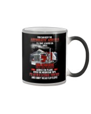 Trucker Clothes - I'm an Old School Trucker Color Changing Mug thumbnail