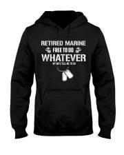 Retired Marine Do Whatever My Wife Tell Me Hooded Sweatshirt thumbnail