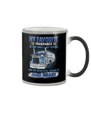 My favourite fragrance is the smell of diesel-Ver2 Color Changing Mug thumbnail