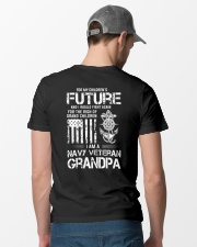 I Would Fight Again For Children Future Classic T-Shirt lifestyle-mens-crewneck-back-6
