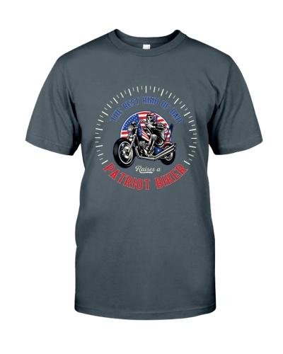 Patriot Biker Dad White Speedometer