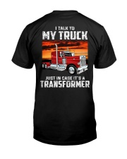 I TALK TO MY TRUCK Classic T-Shirt tile