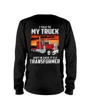 I TALK TO MY TRUCK Long Sleeve Tee tile