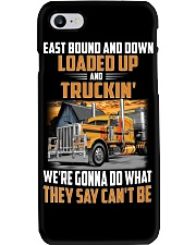 Trucker Clothes  - East Bound And Down Phone Case thumbnail