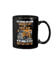 Trucker Clothes  - East Bound And Down Mug thumbnail
