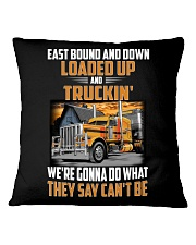 Trucker Clothes  - East Bound And Down Square Pillowcase thumbnail
