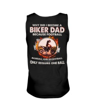 WHY DID I BECOME A BIKER DAD Unisex Tank tile