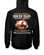 WHY DID I BECOME A BIKER DAD Hooded Sweatshirt tile