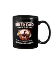 WHY DID I BECOME A BIKER DAD Mug tile