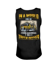 Trucker Clothes - In a world Be A Truck Driver Unisex Tank thumbnail