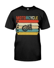 Motorcycle Daddy Classic T-Shirt front