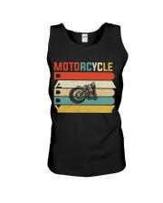 Motorcycle Daddy Unisex Tank thumbnail