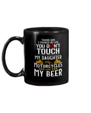 THERE ARE 3 THINGS YOU DONT TOUCH - MY BEER Mug back