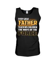 Every Great Father Teach His Children  Unisex Tank thumbnail