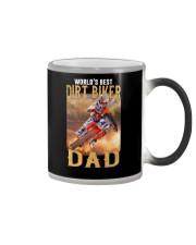 World's Best Dirt Biker Dad Color Changing Mug thumbnail