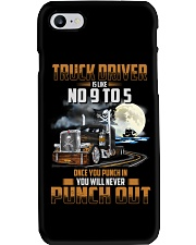 Trucker Clothes - Truck Driver Is Like No 9 to 5 Phone Case thumbnail
