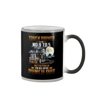 Trucker Clothes - Truck Driver Is Like No 9 to 5 Color Changing Mug thumbnail
