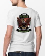 I Am A Veteran My Oath Never Expires Classic T-Shirt lifestyle-mens-crewneck-back-5
