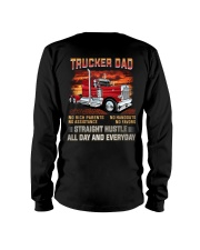 TRUCKER DAD - No rich parents  Long Sleeve Tee thumbnail