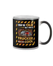 Truck Clothes - I May Be Old Color Changing Mug thumbnail