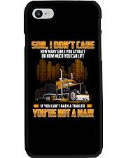 Trucker Clothes -Trucker Son I don't care Phone Case thumbnail