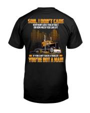Trucker Clothes -Trucker Son I don't care Classic T-Shirt thumbnail