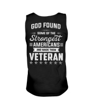 T-shirt God Found Some Of The Strongest Americans  Unisex Tank thumbnail