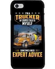 Trucker Clothes - I'm a Trucker - I talk to myself Phone Case thumbnail