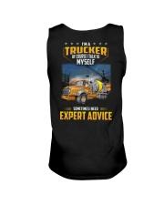 Trucker Clothes - I'm a Trucker - I talk to myself Unisex Tank thumbnail