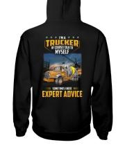 Trucker Clothes - I'm a Trucker - I talk to myself Hooded Sweatshirt thumbnail