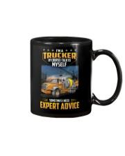 Trucker Clothes - I'm a Trucker - I talk to myself Mug thumbnail
