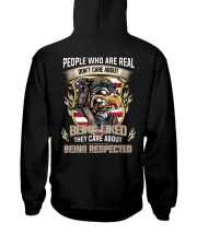 People Who Are Real Care About Being Respected Hooded Sweatshirt thumbnail