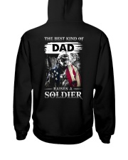 The Best Kind Of Dad Raises A Soldier Hooded Sweatshirt tile